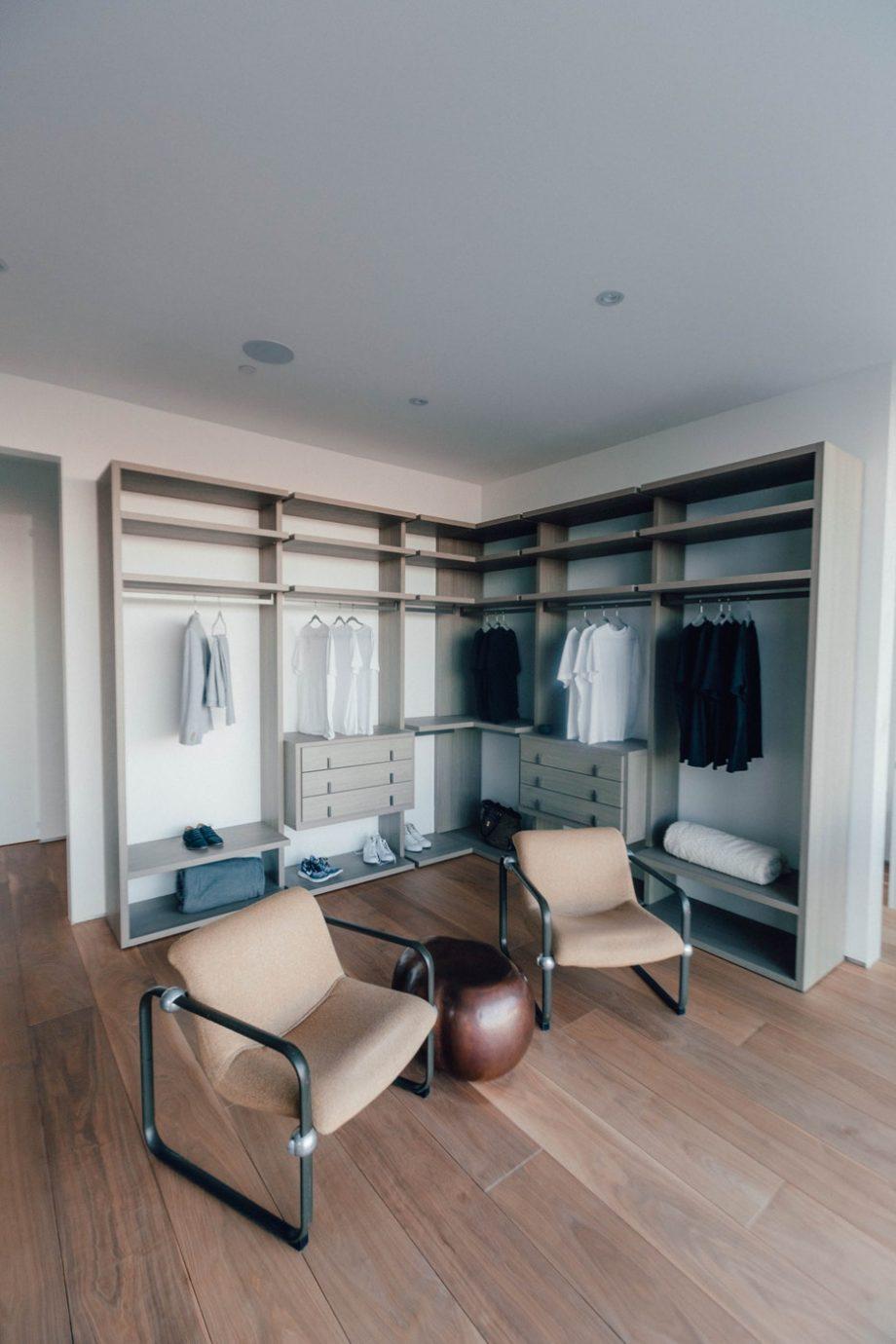 Visa din stil med garderobsinredning