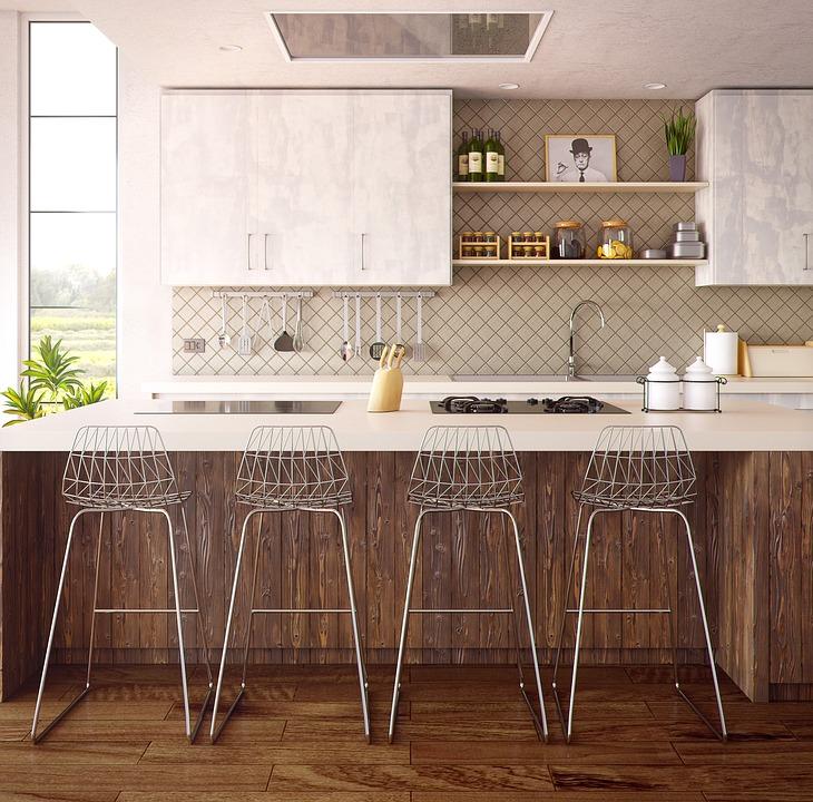 En ny bänkskiva fixade köket
